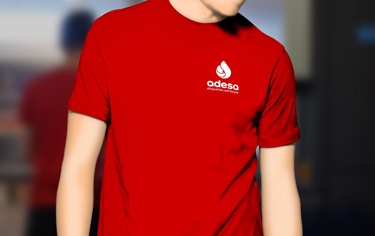 adesa-logo-tshirt-textile-creation-communication-caconcept-alexis-cretin-graphiste