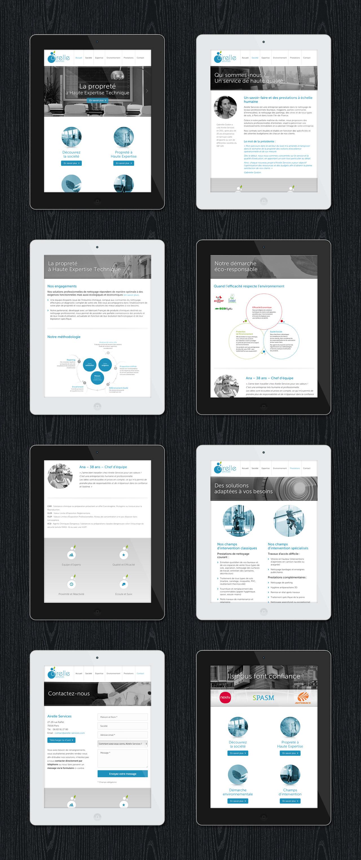 airelle-services-site-tablette-responsive-design-creation-communication-caconcept-alexis-cretin-graphiste