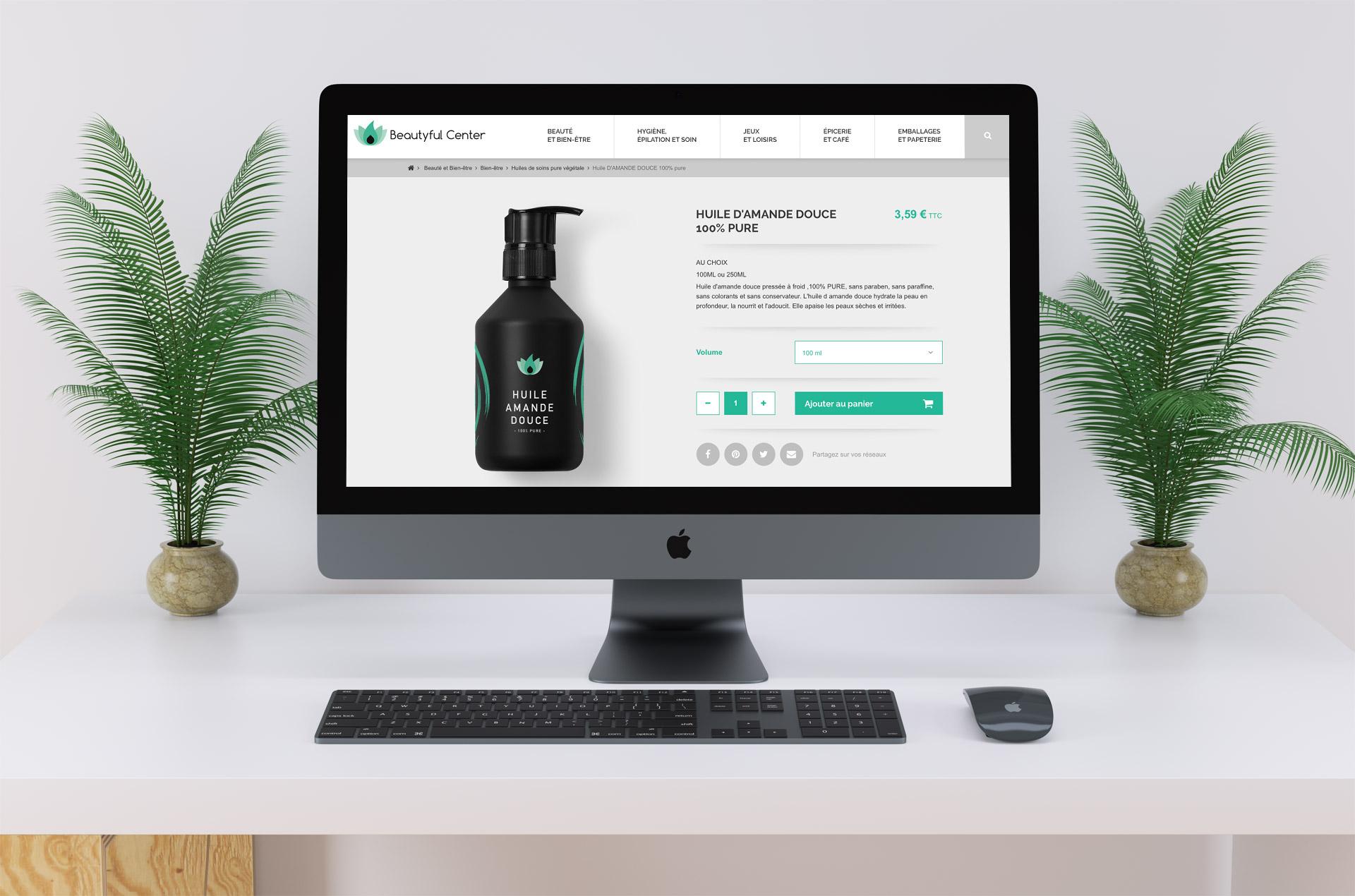 Création boutique site e-commerce graphiste Montpellier