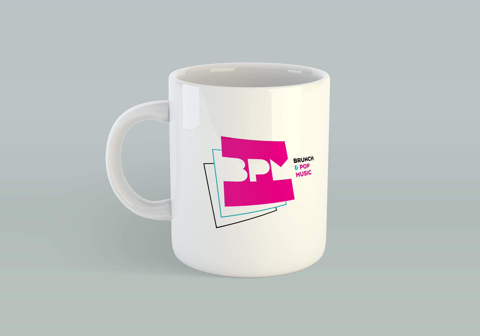 Création logo pop music BPM creation logo Montpellier