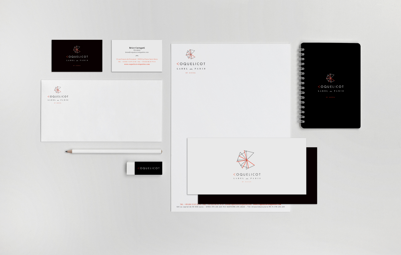 coquelicot-logo-carte-visite-correspondance-entete-creation-communication-caconcept-alexis-cretin-graphiste