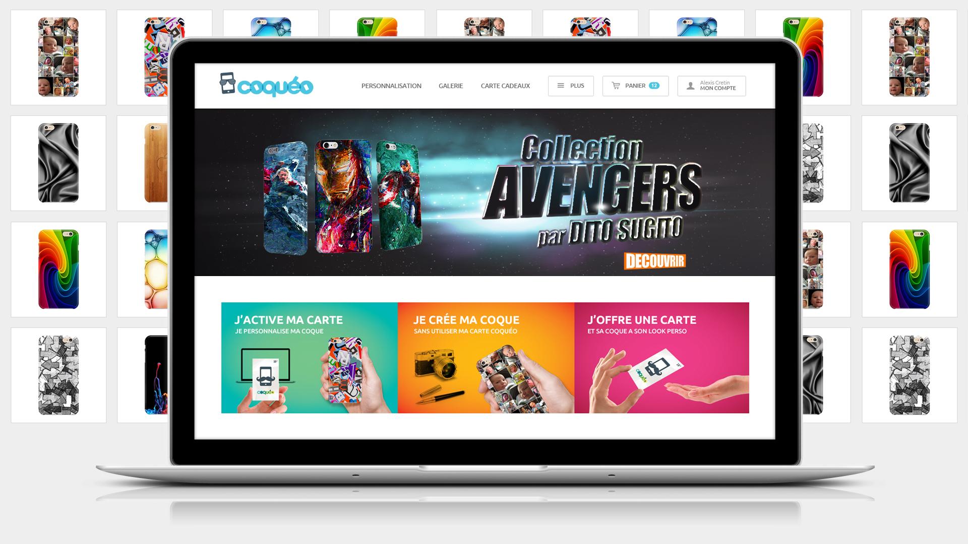 coqueo-creation-site-coque-mobile-smartphone-personnalisation-caconcept-alexis-cretin-graphiste-montpellier