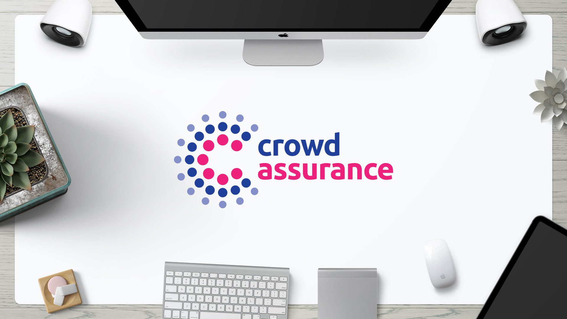 Création logo assurance crowdfinance crowdlending crowdfunding