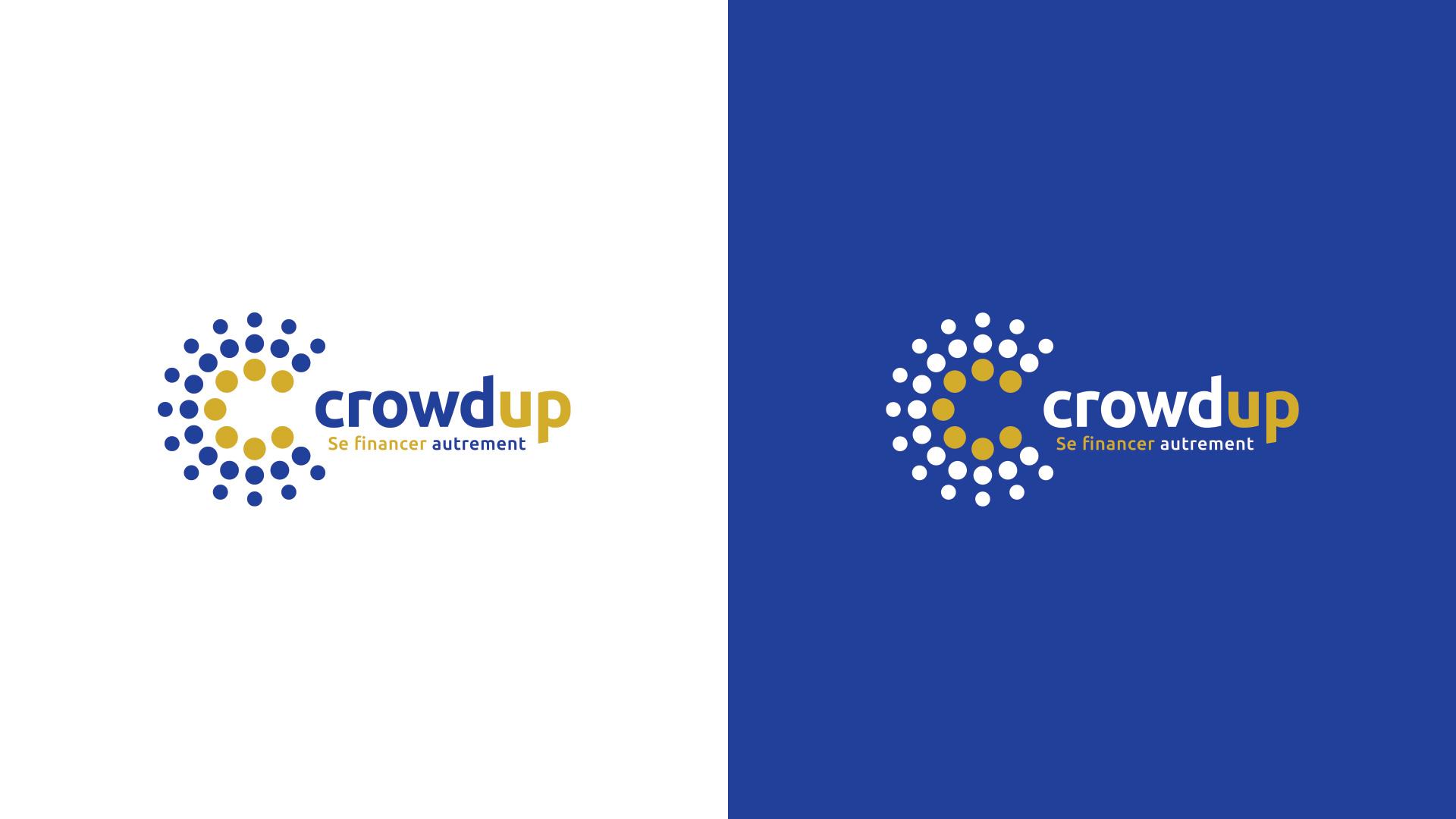 Création logo crowdfunding financement participatif Crowdup