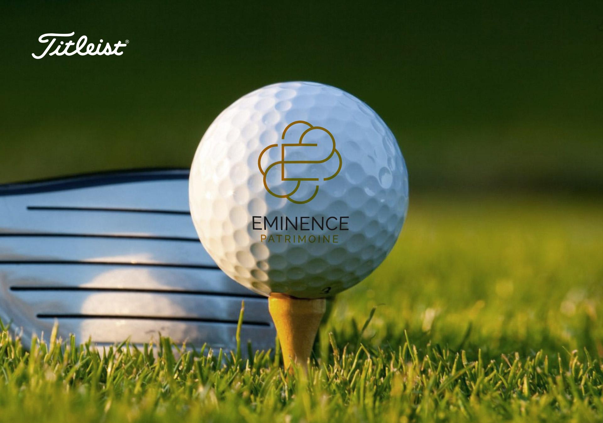 Creation goodies realisation balle golf Titleist Pro v1