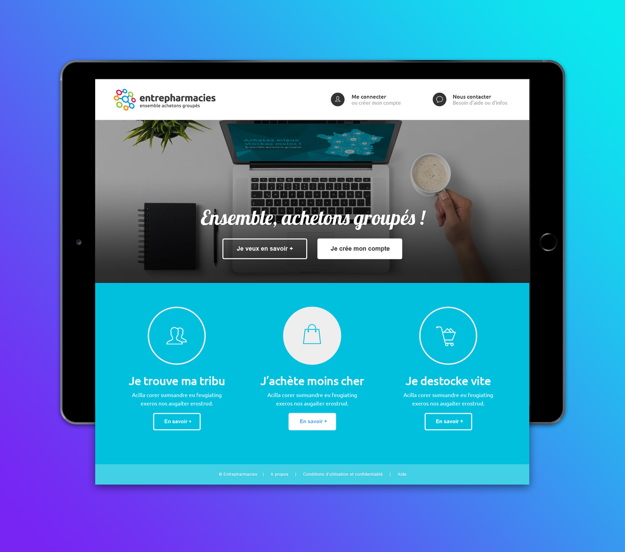 entrepharmacies-creation-site-internet-caconcept-alexis-cretin-graphiste-montpellier