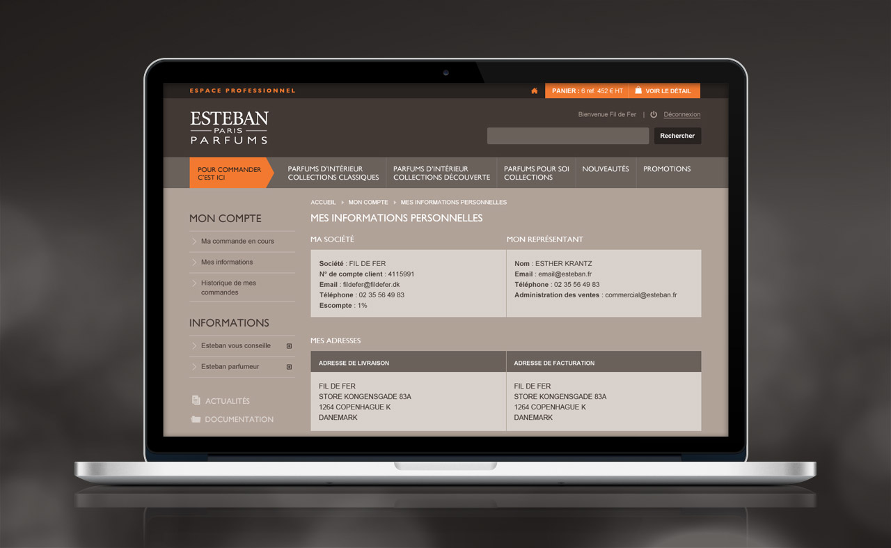 esteban-professionnel-site-internet-compte-informations-personnelles-creation-communication-caconcept-alexis-cretin-graphiste