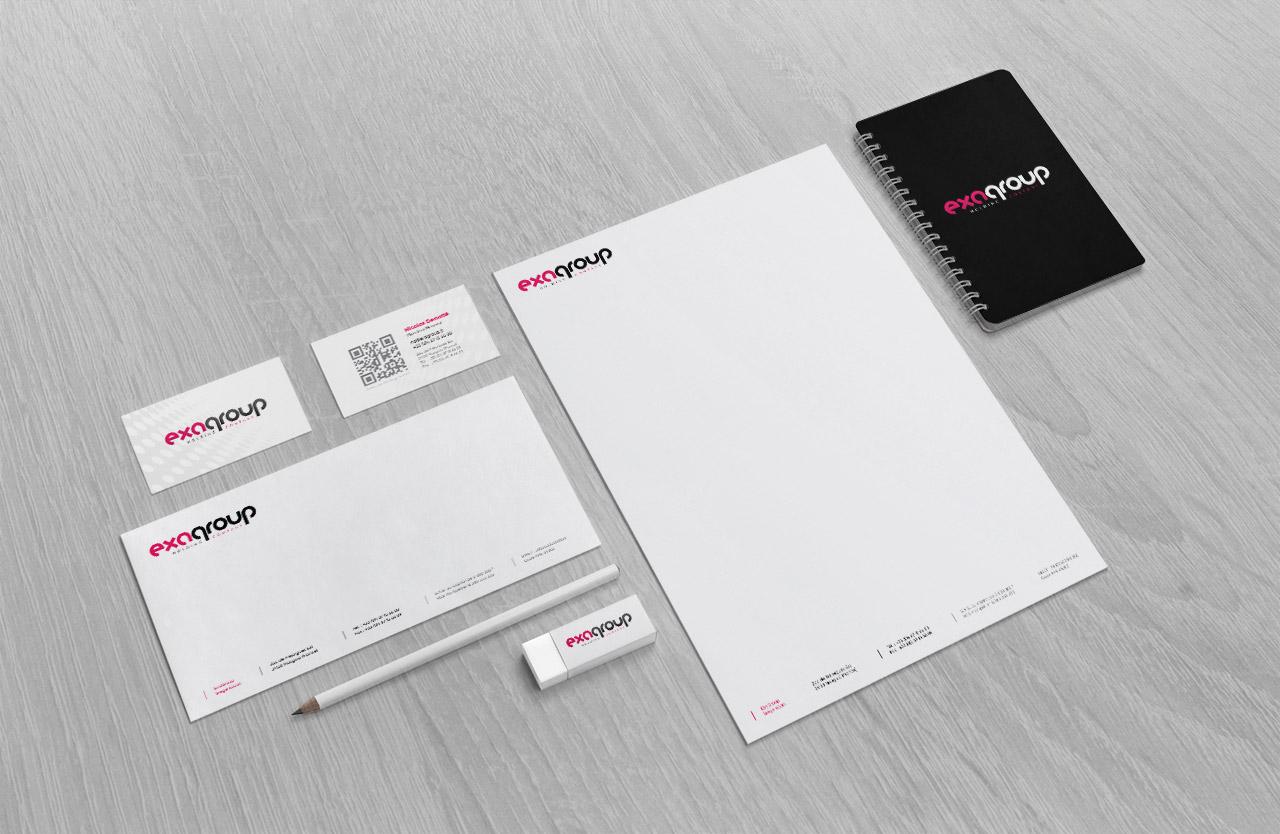 exagroup-logo-carte-correspondance-entete-creation-communication-caconcept-alexis-cretin-graphiste