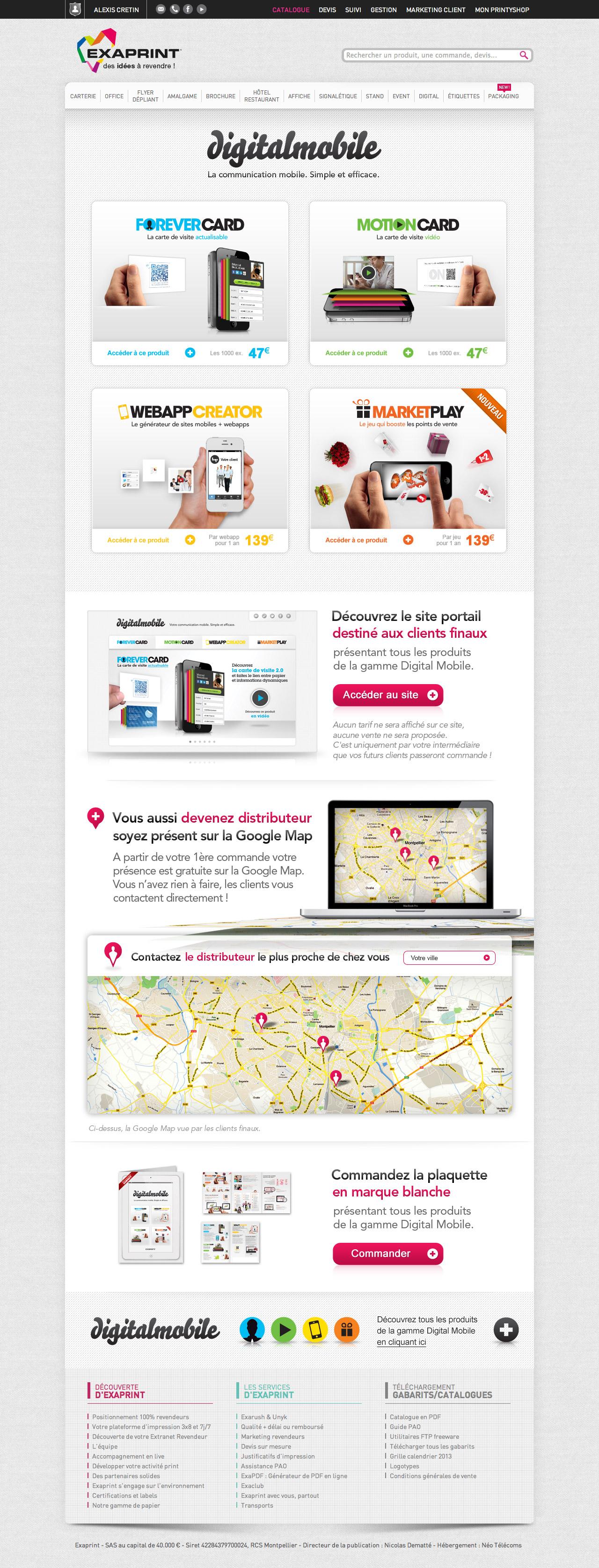 exaprint-digitalmobile-site-exaprint-creation-communication-caconcept-alexis-cretin-graphiste