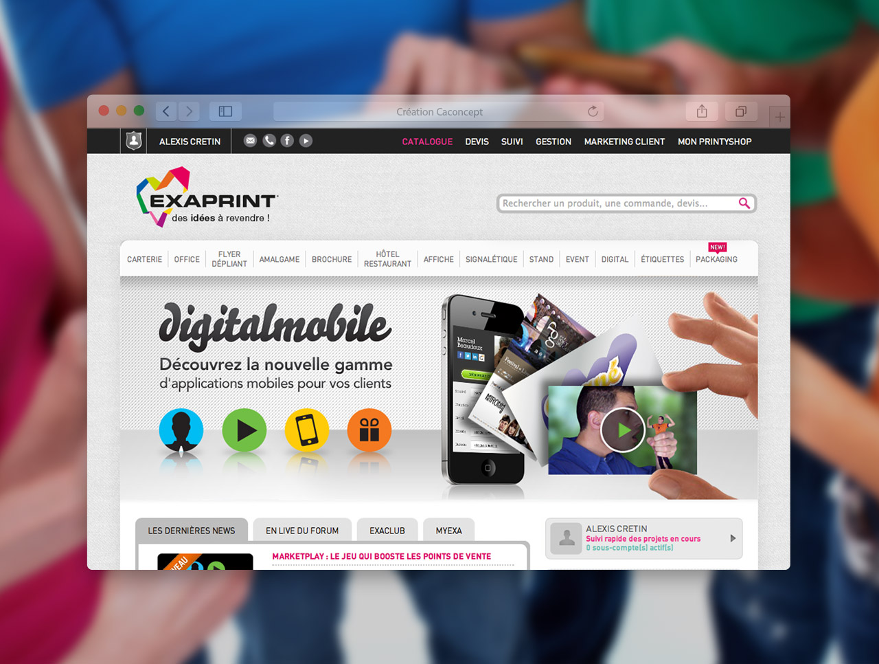 exaprint-digitalmobile-slide-site-exaprint-creation-communication-caconcept-alexis-cretin-graphiste