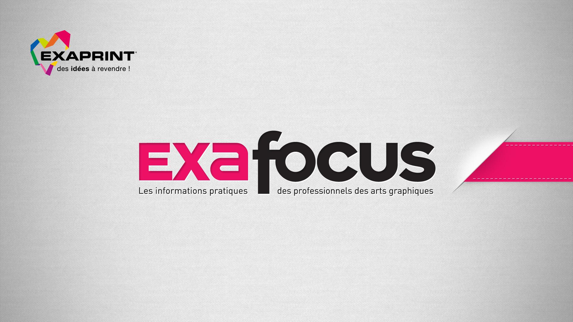 Exaprint Exafocus Creation Logo Identite Plaquette Charte Editoriale