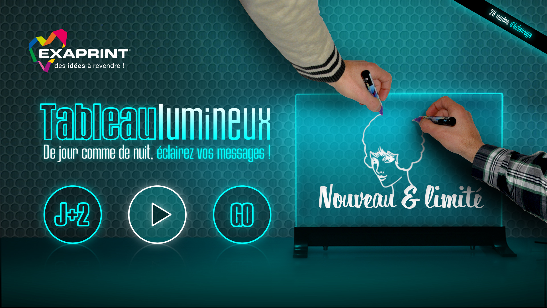 exaprint-tableau-lumineux-creation-logo-animation-site-internet-mailing-communication-caconcept-alexis-cretin-graphiste