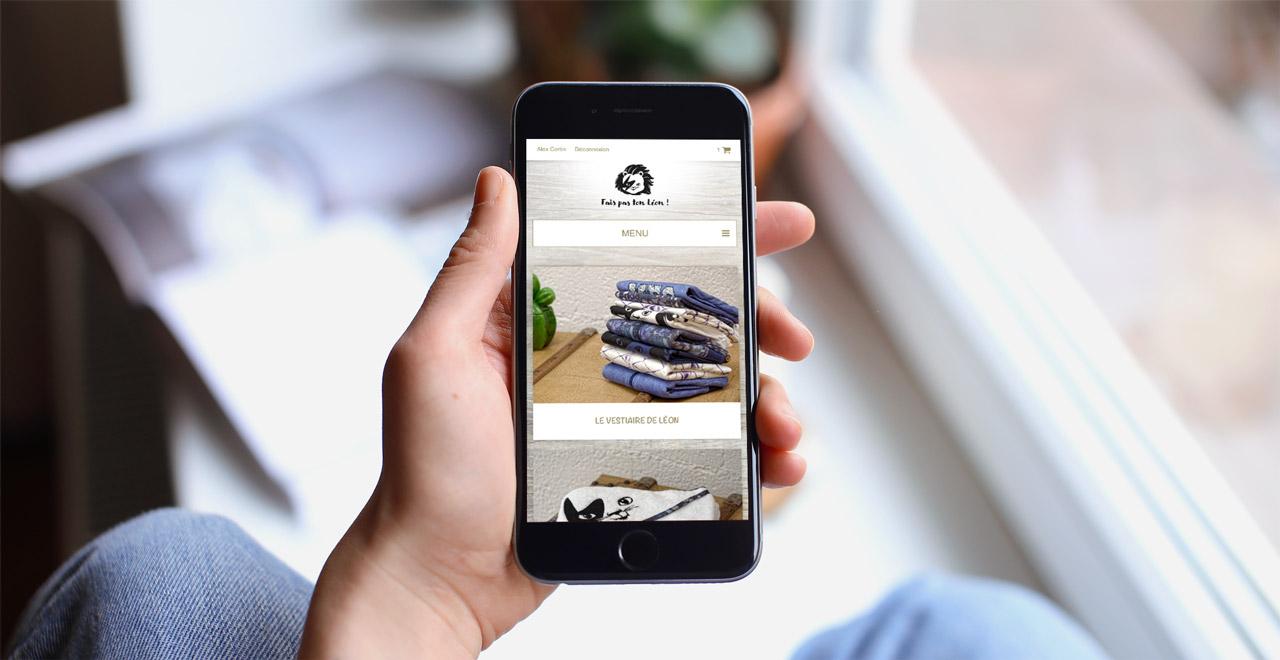 faispastonleon-creation-site-e-commerce-mobile-smartphone-responsive-caconcept-alexis-cretin-graphiste-montpellier