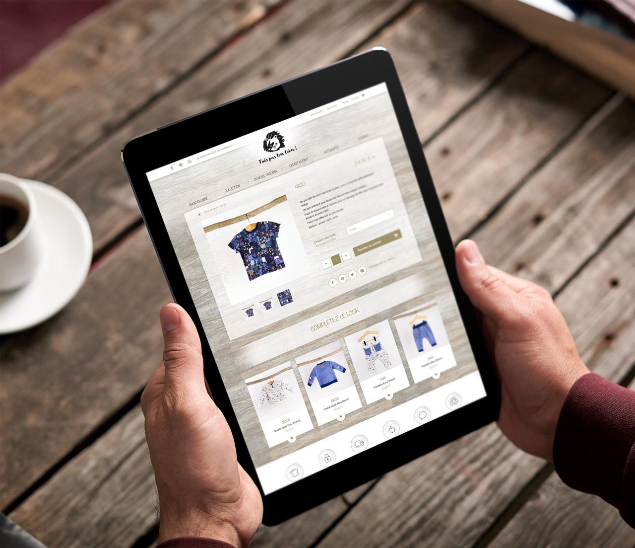 faispastonleon-creation-site-e-commerce-tablette-mobile-friendly-caconcept-alexis-cretin-graphiste-montpellier