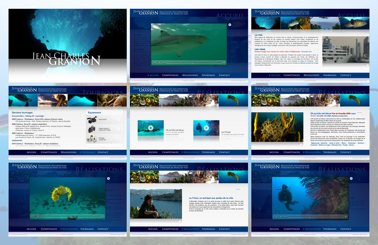 granjon-realisation-creation-site-internet-caconcept-alexis-cretin-graphiste