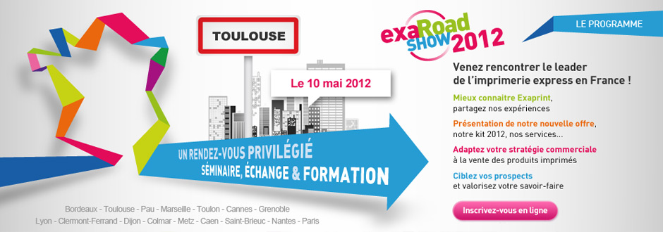 Graphiste Montpellier Creation Exaprint Exaroadshow Agence Communication