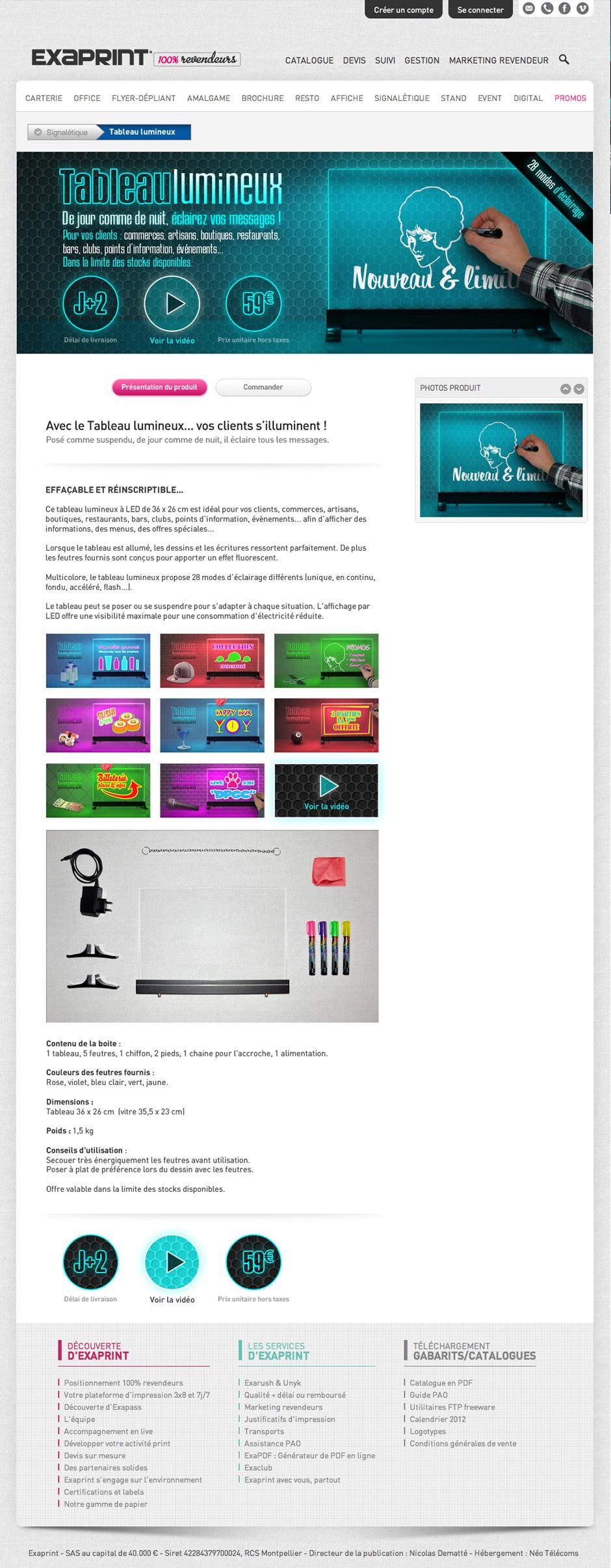 graphiste-montpellier-creation-exaprint-tableau-lumineux-agence-communication-montpellier-caconcept-alexis-cretin-3
