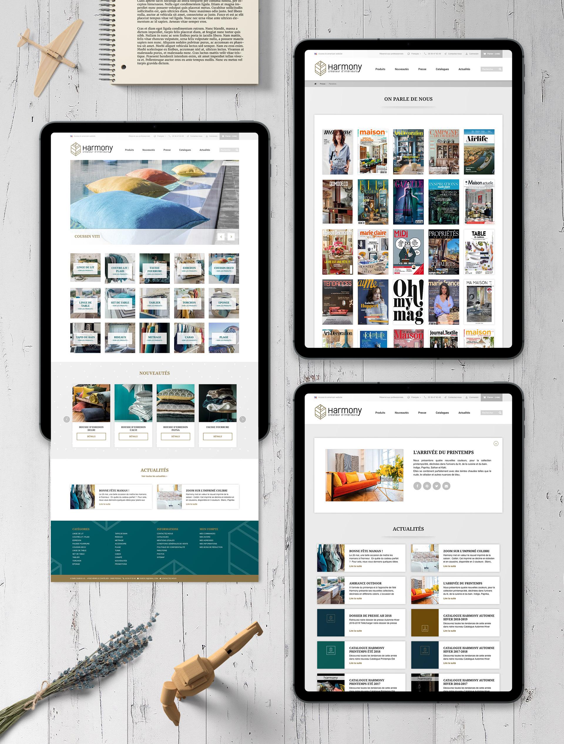 Création boutique e-commerce b2b