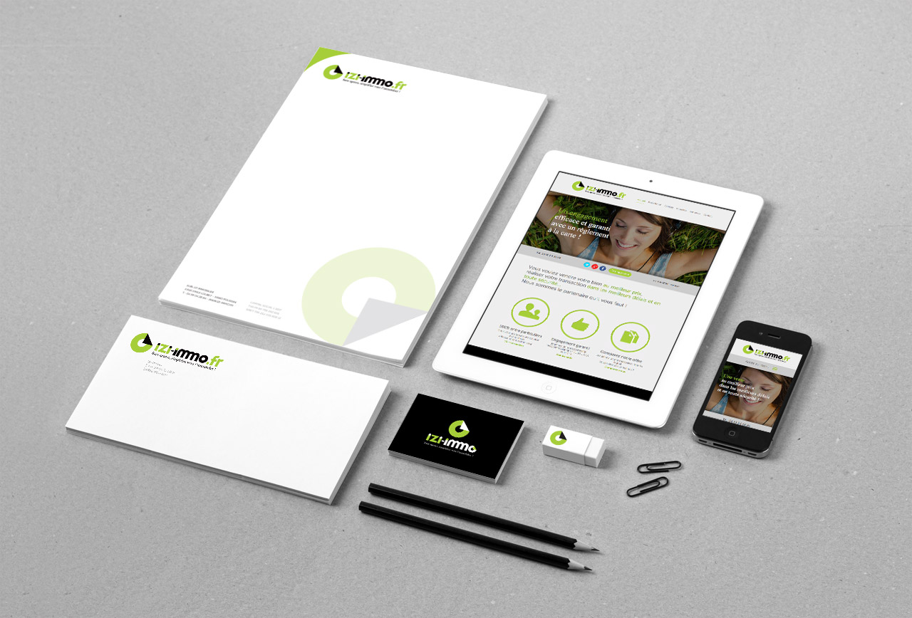 izi-immobilier-site-internet-carte-enveloppe-entete-creation-communication-caconcept-alexis-cretin-graphiste