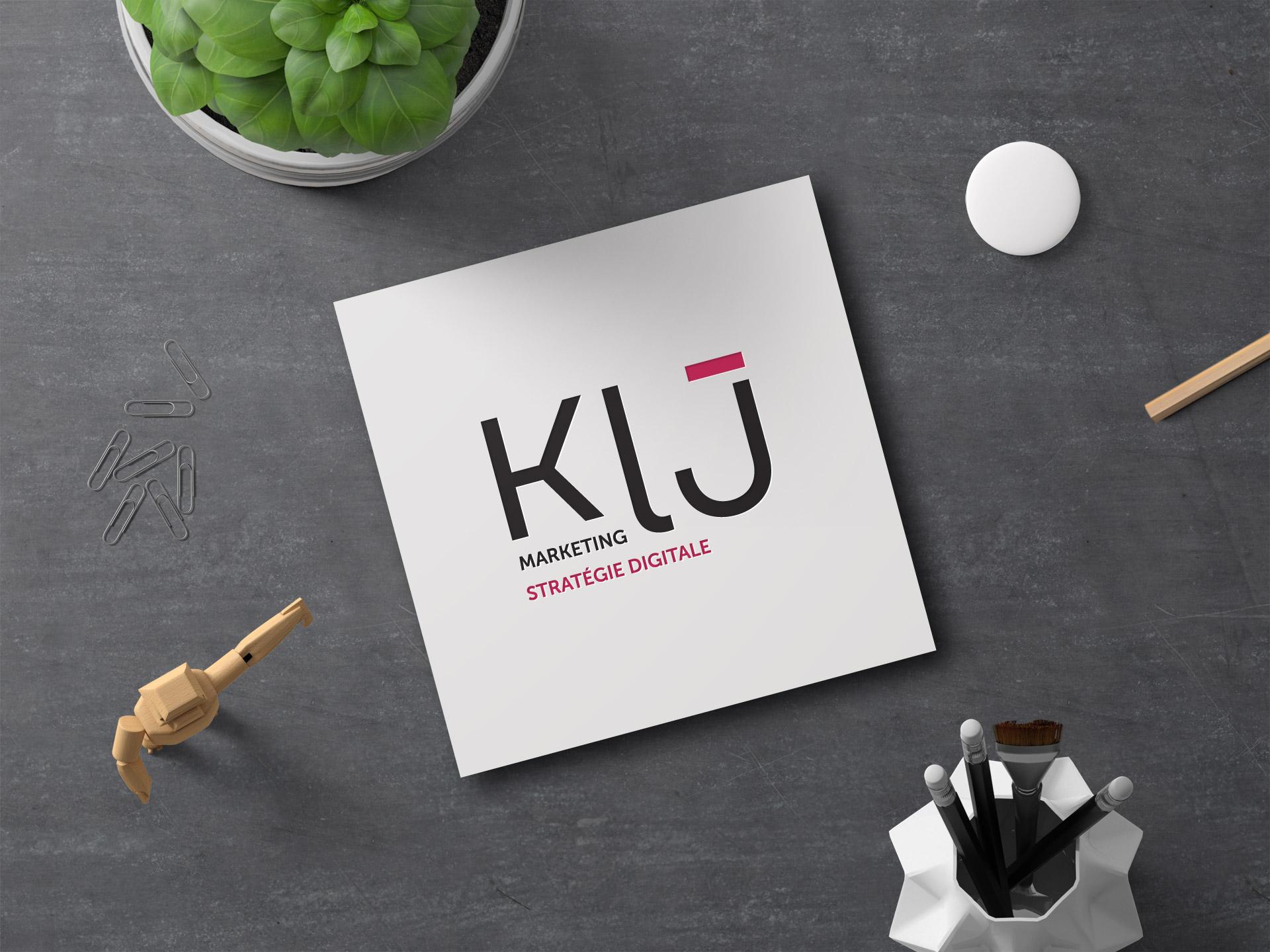 Réalisation identité visuelle agence conseil marketing digital Karen Lejolif Montpellier