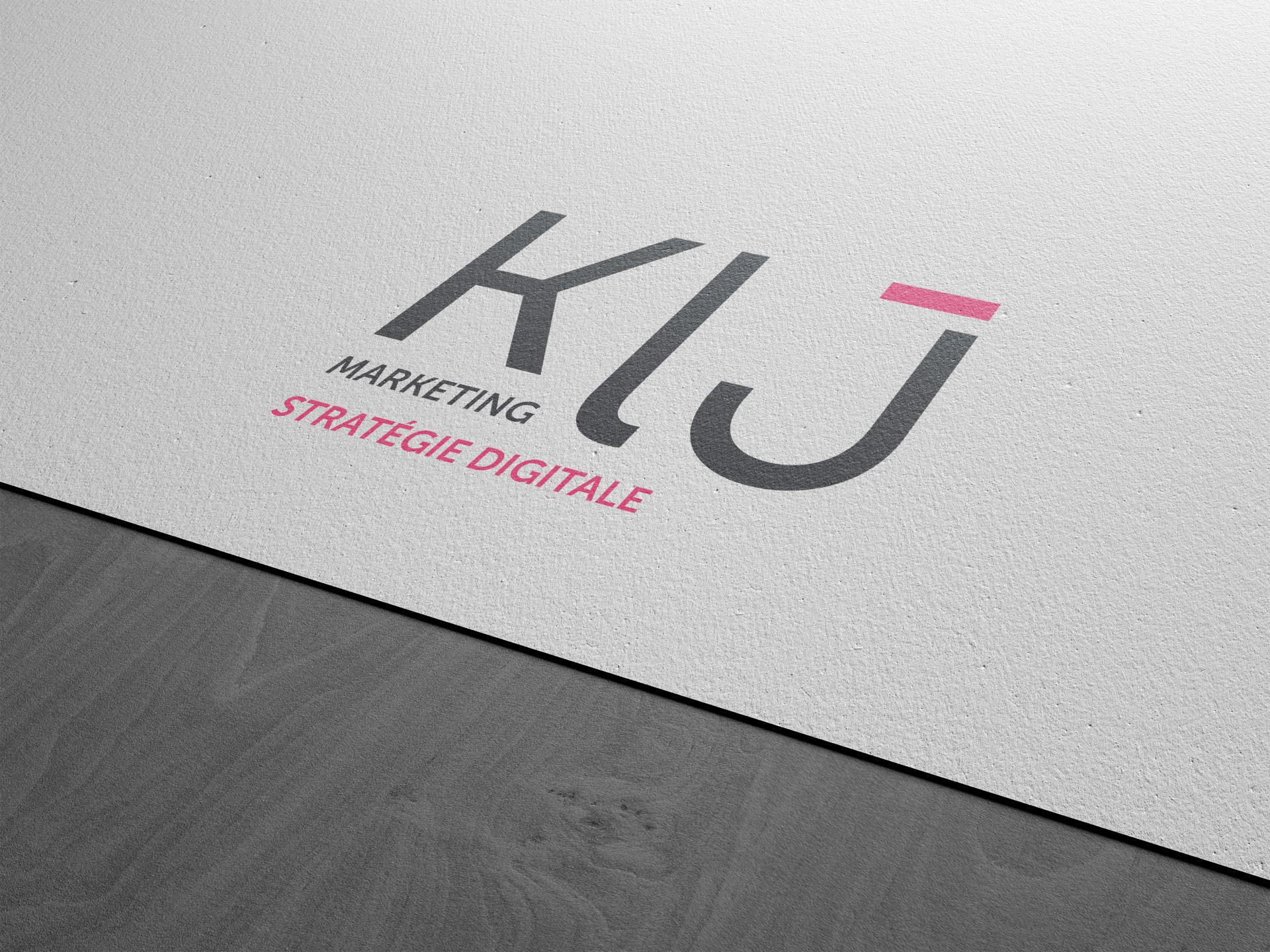 Création charte graphique KLJ spécialiste marketing stratégie digitale Montpellier