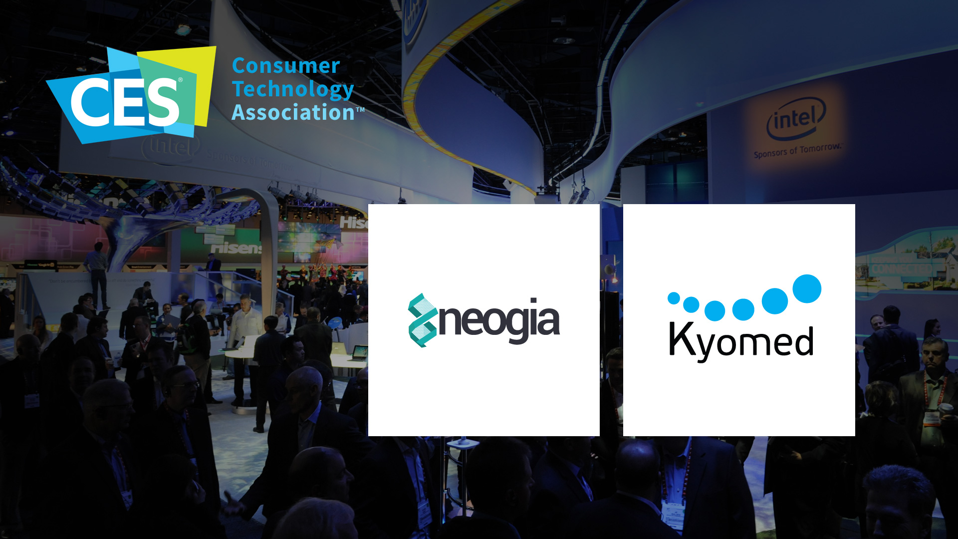 Création stand Neogia Kyomed CES Las Vegas