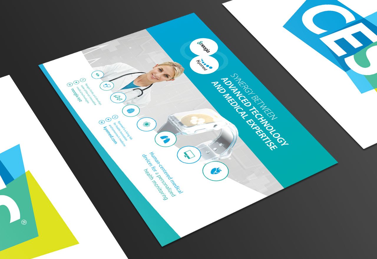 Création brochure e-santé CES Consumer Electronics Show Las Vegas