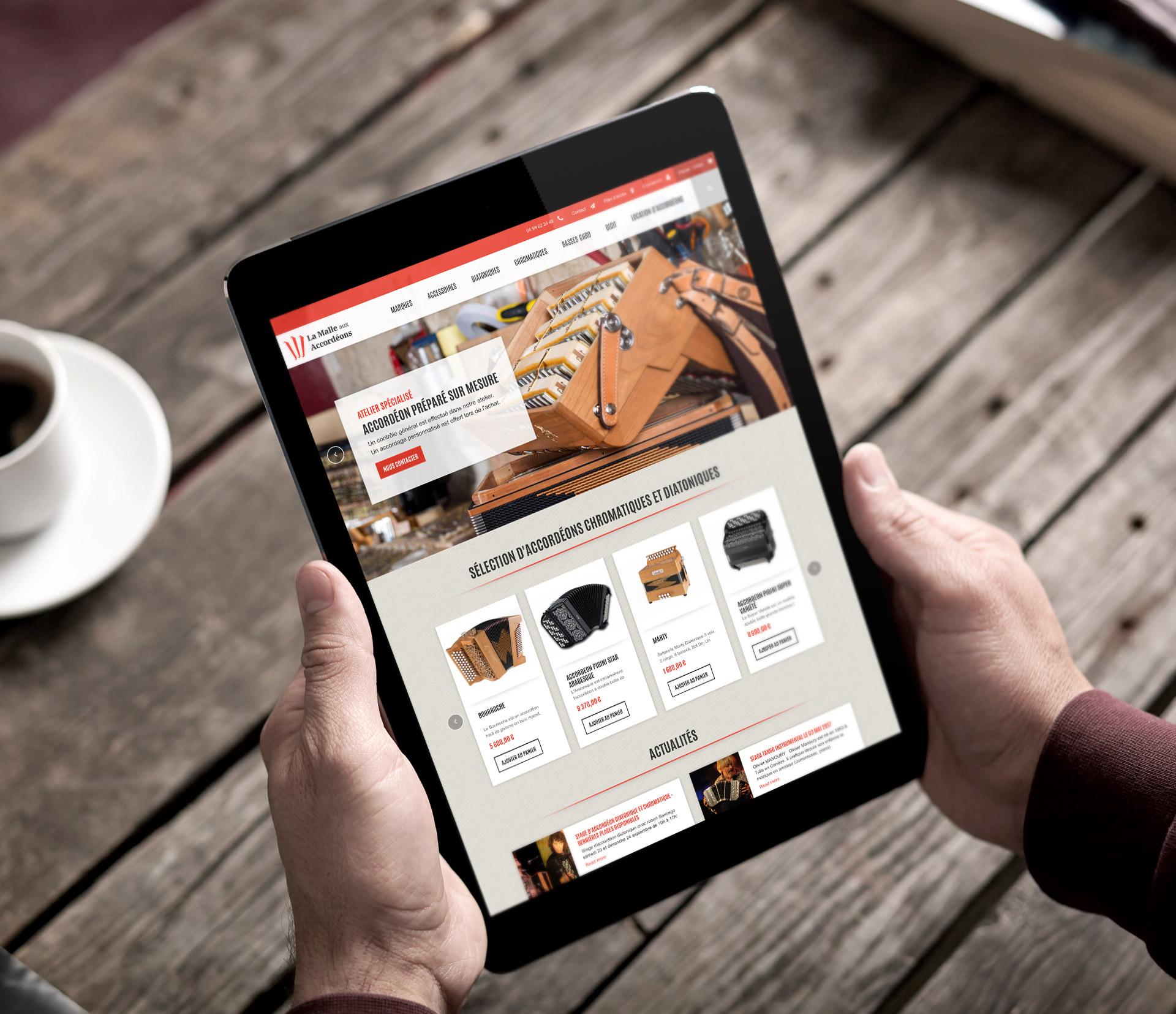 Création site e-commerce mobile friendly Montpellier