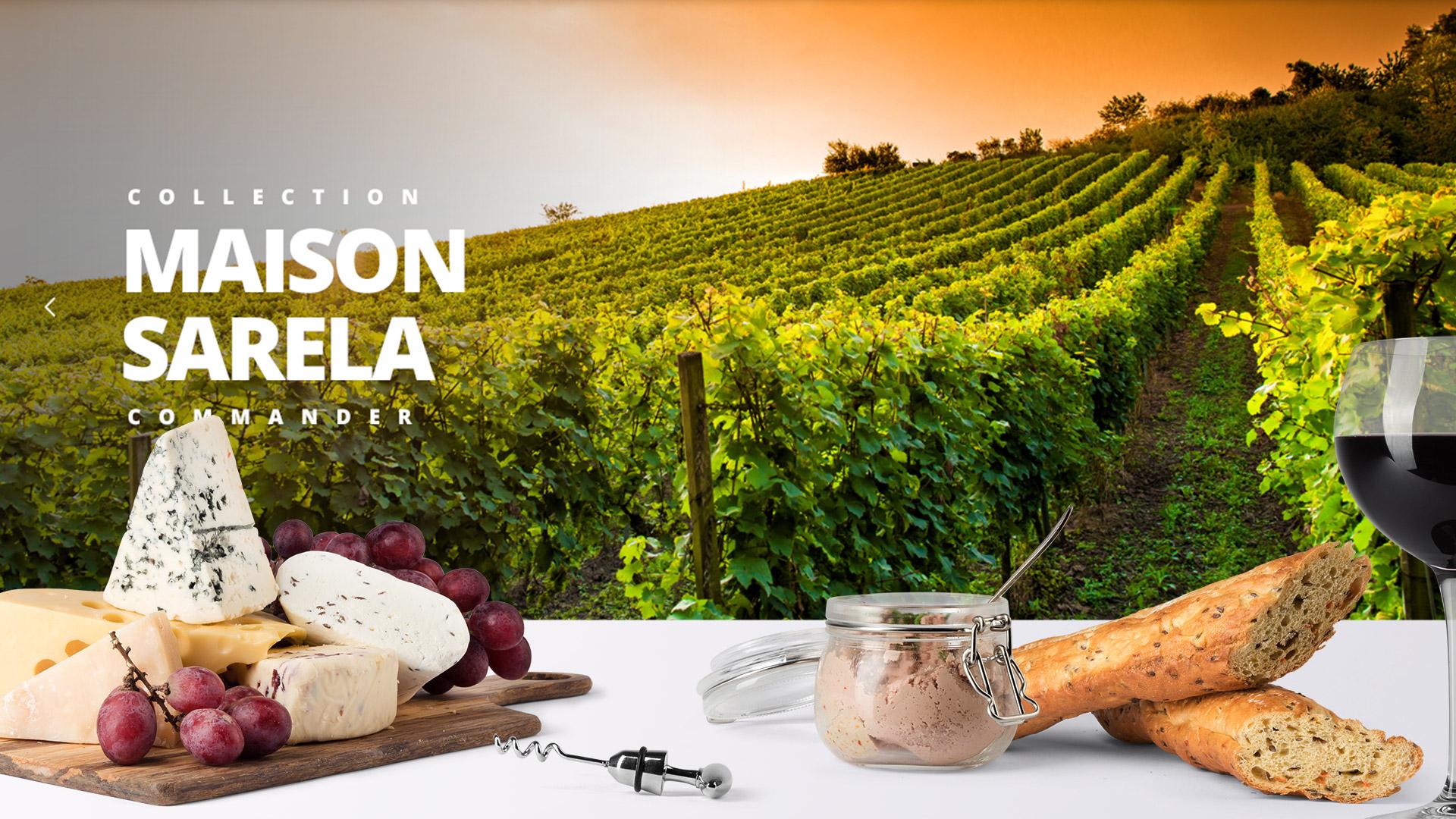 Realisation site e-commerce communication visuelle viticulteur Montpellier