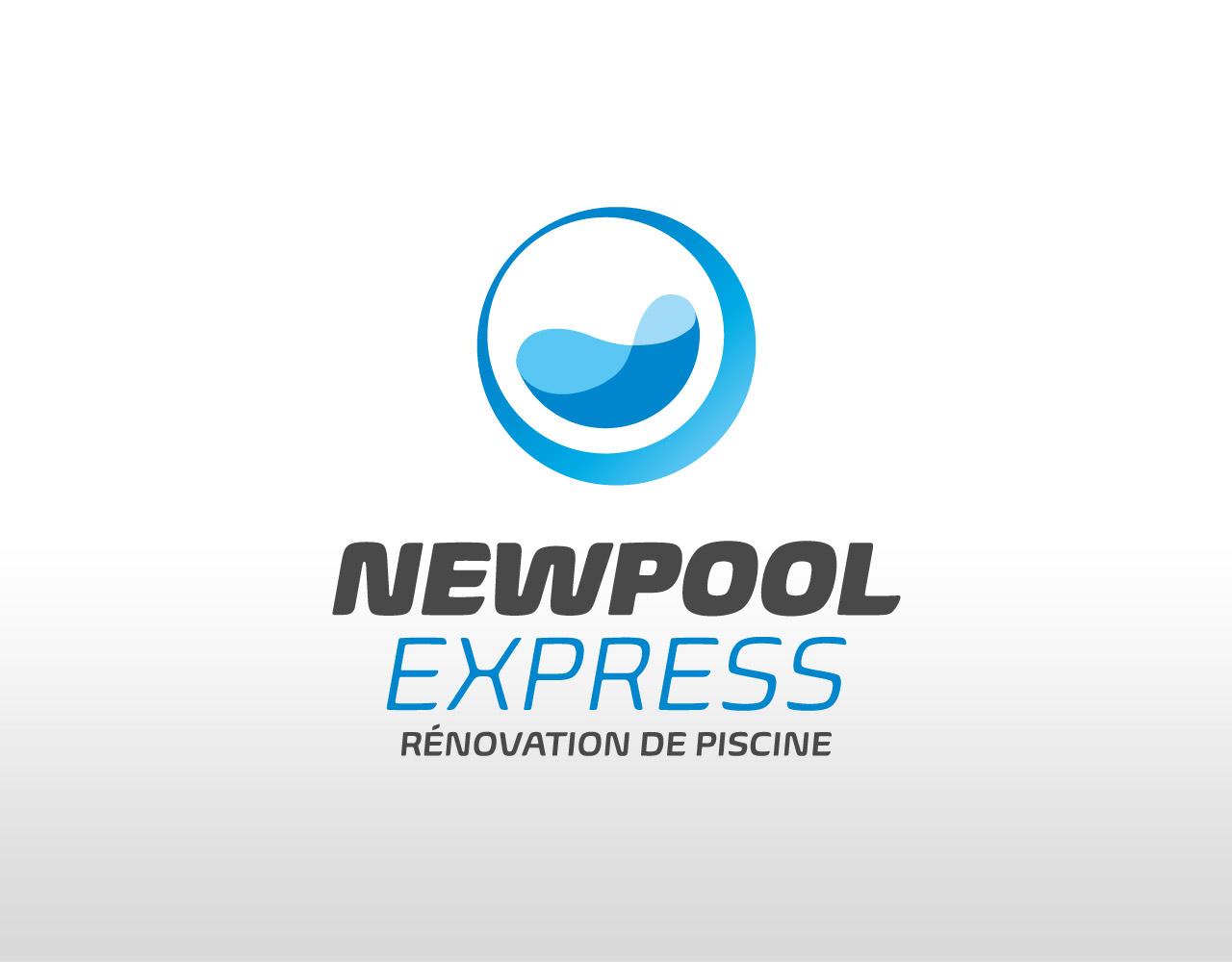 Création du logo Newpool Express