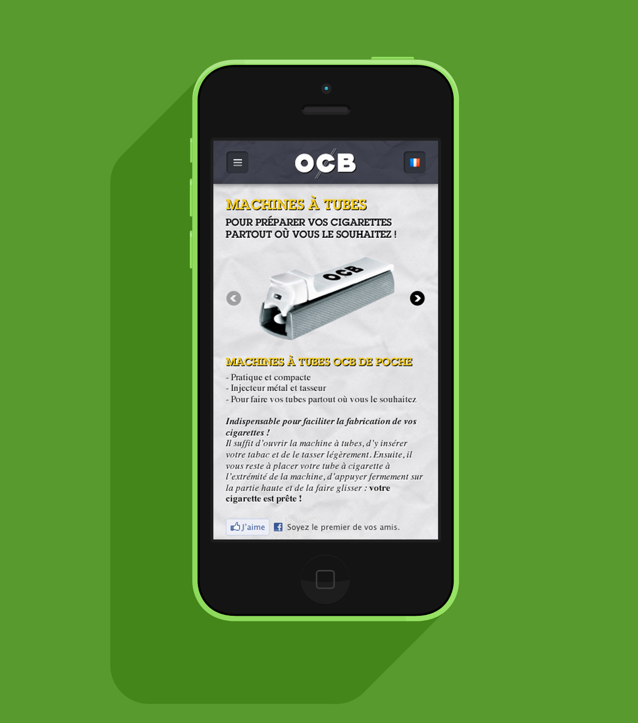 ocb-site-mobile-site-internet-ocb-accessoires-focus-creation-communication-caconcept-alexis-cretin-graphiste
