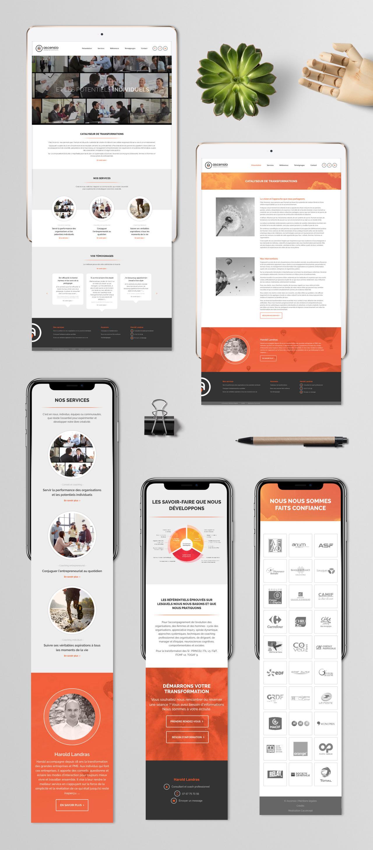 Création site internet responsive design graphiste montpellier