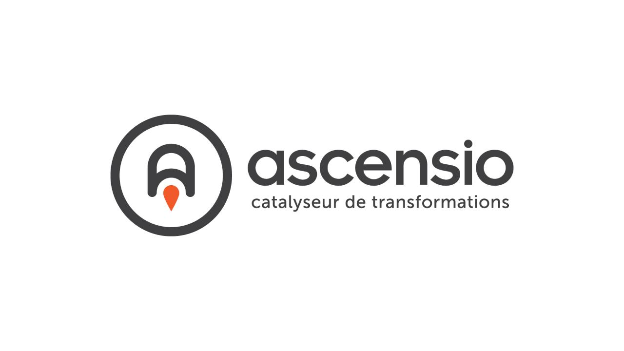 Création logo Ascensio cabinet coaching professionnel Montpellier