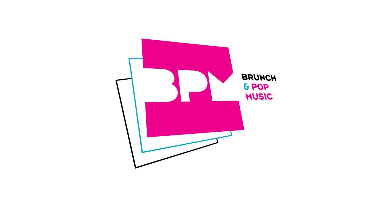 Creation logo pop music BPM graphiste Montpellier