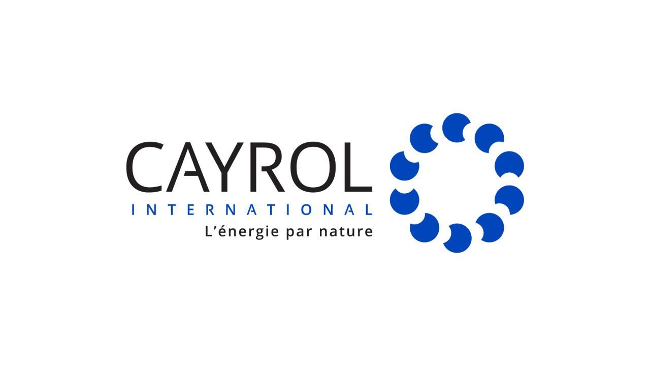 Création logo producteur énergie naturelle renouvelable Cayrol International