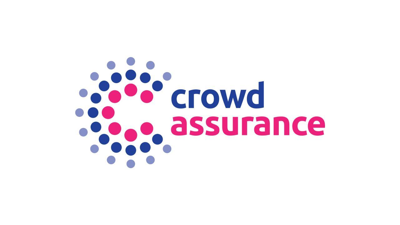Réalisation logo assurance crowdfinance crowdlending crowdfunding