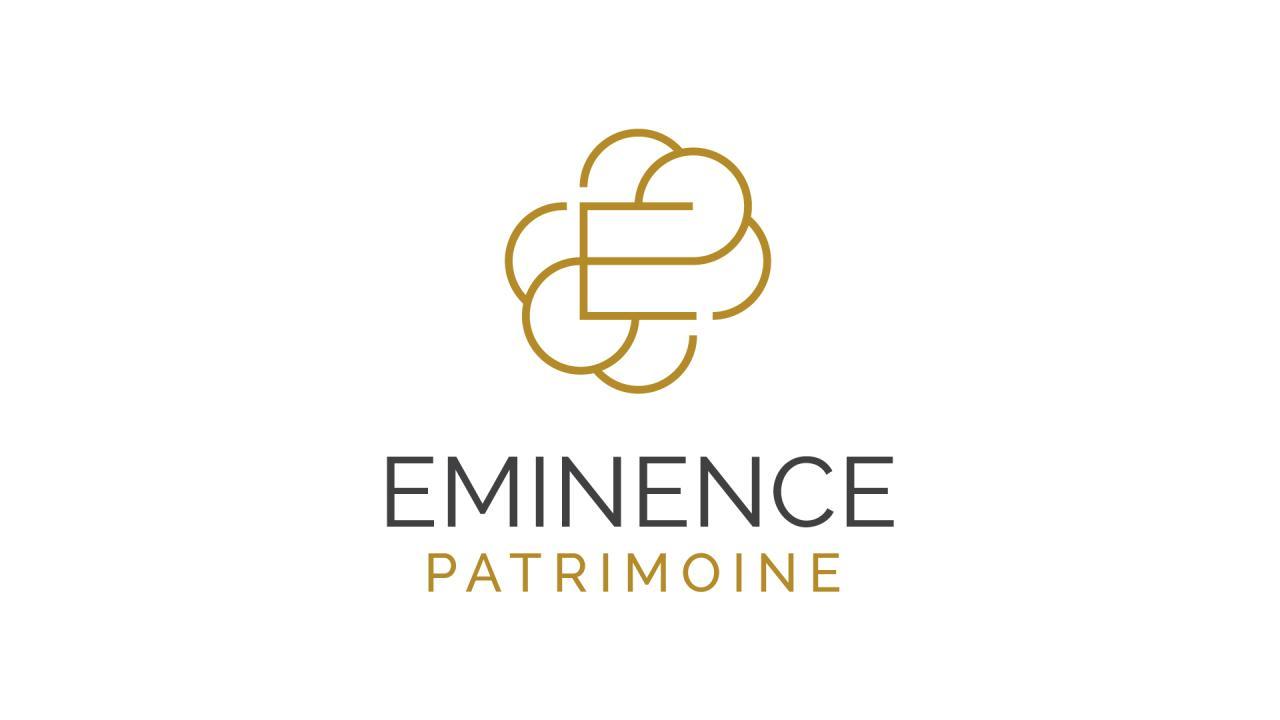 Création logo Eminence Patrimoine cabinet gestion patrimoniale Montpellier