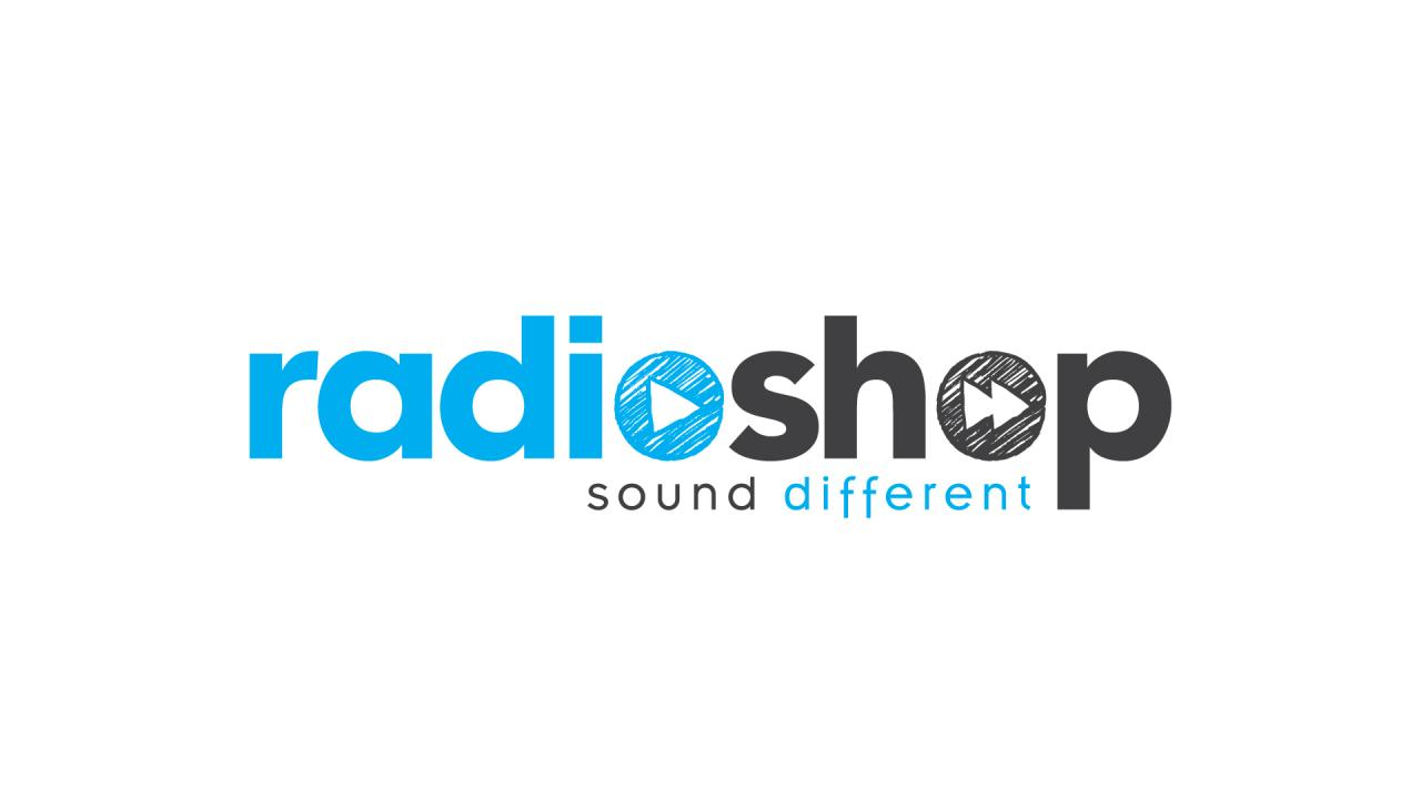 Création logo Radioshop Communication sonore