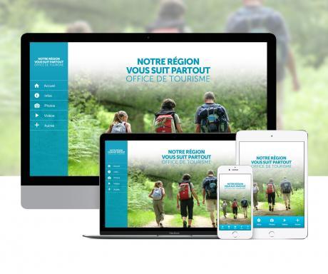 Création d'une application d'Office de Tourisme pour Webappcreator