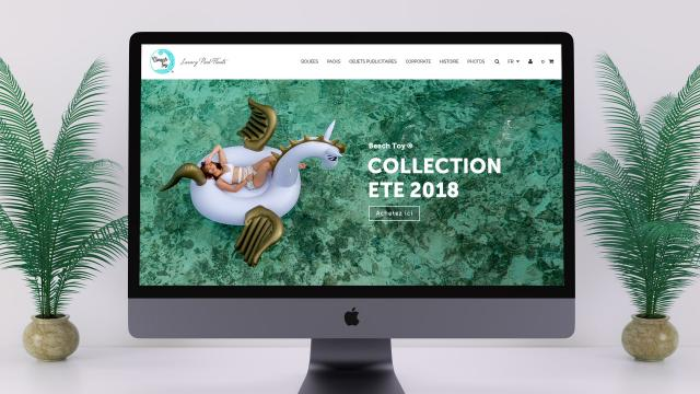 Creation site web e-commerce Beach Toy Montpellier
