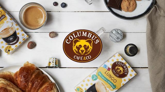 Creation outils marketing Columbus Café & Co