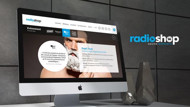 Création logo, création site internet agence communication sonore Paris Montpellier