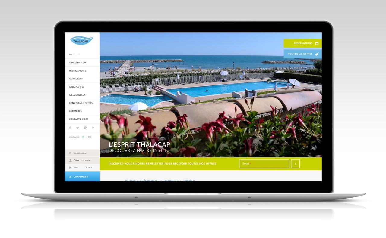 Création boutique en ligne spa