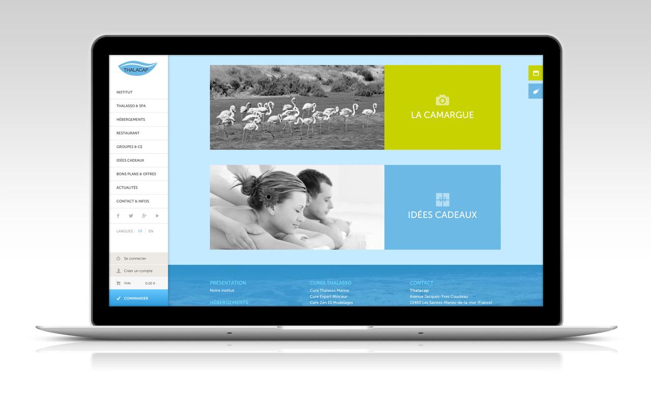 Création site boutique e-commerce hotel