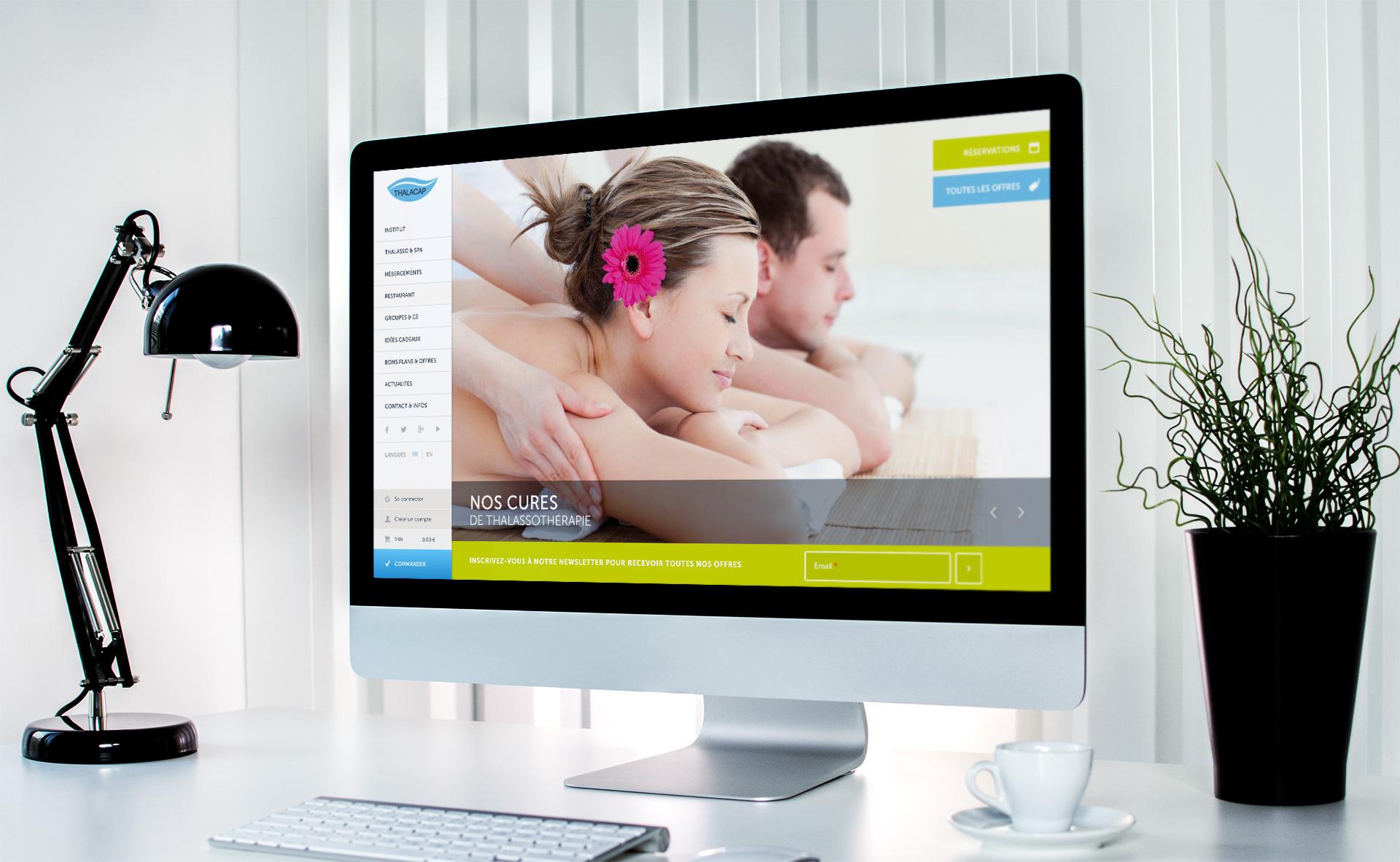 Création site e-commerce hotel-spa