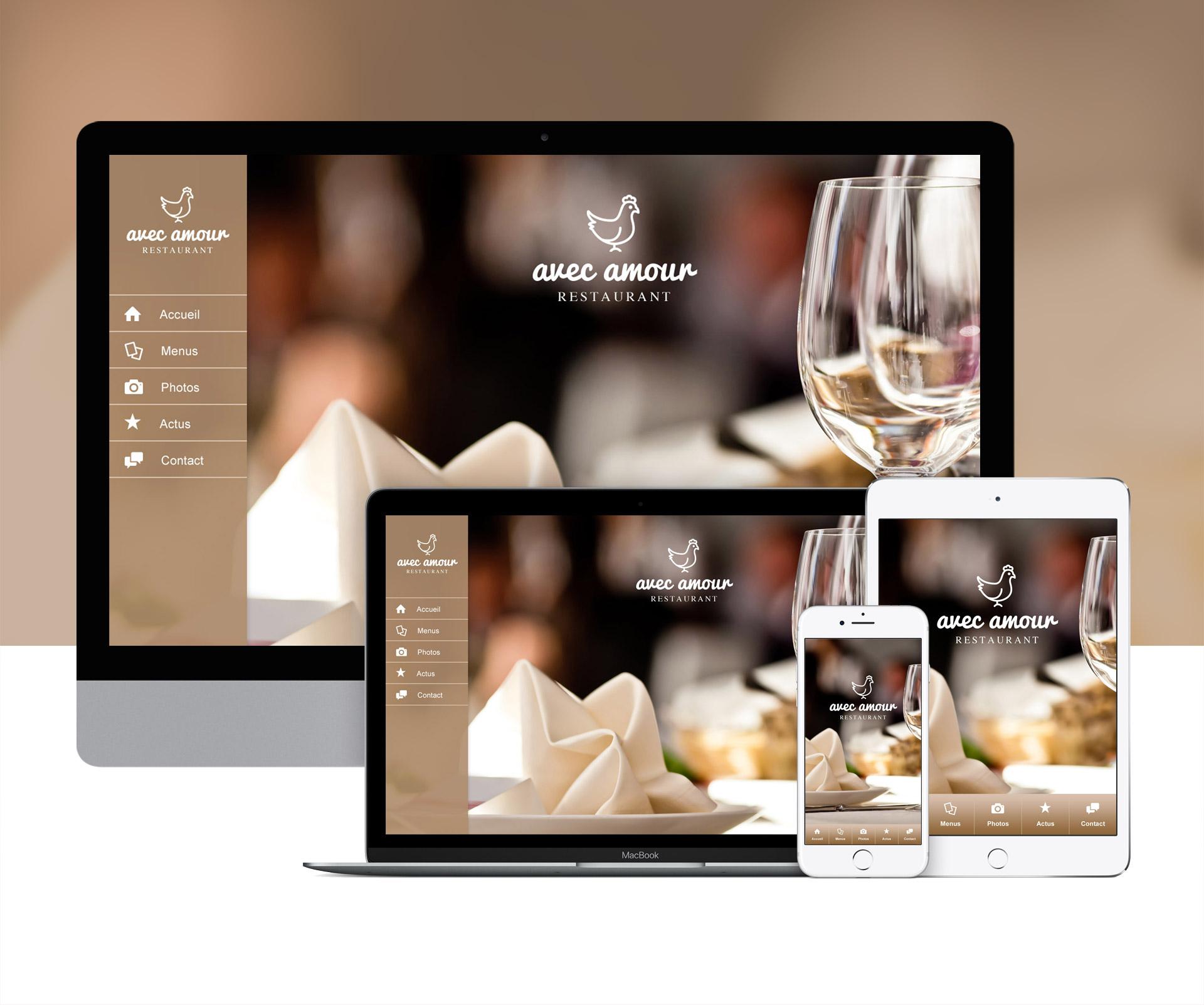 Création application restaurant